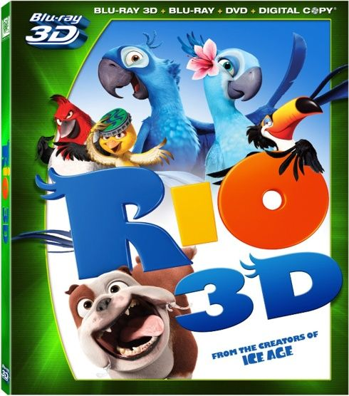 Download Rio 3D 2011 1080p Blu-ray